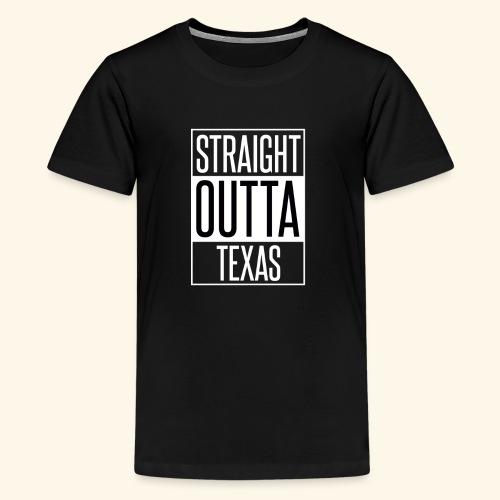 Straight Outta Texas - Kids' Premium T-Shirt