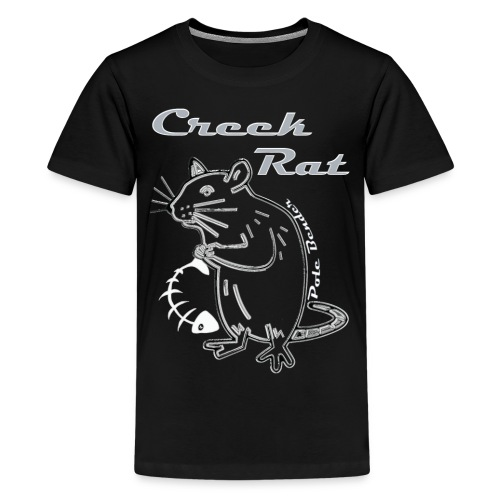 Creek Rat Fishbone - Kids' Premium T-Shirt