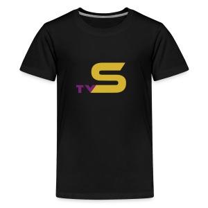 SandsTV logo - Kids' Premium T-Shirt