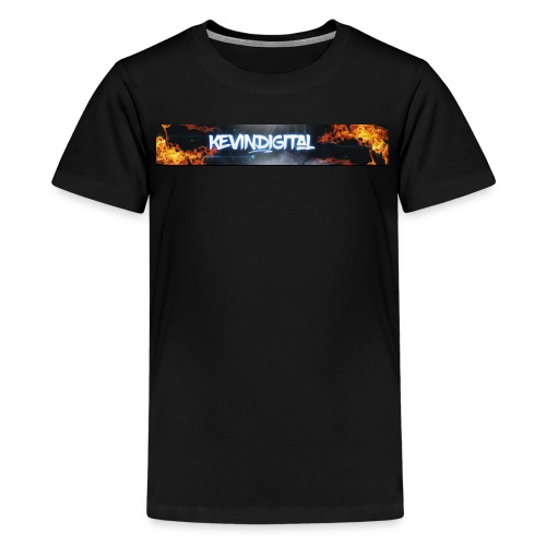 KevinDigital Black - Kids' Premium T-Shirt