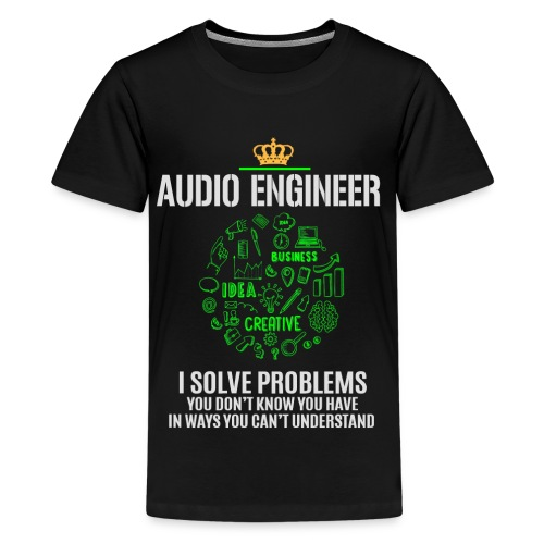 AUDIO ENGINEER - Kids' Premium T-Shirt