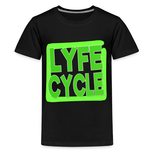 LYFECYCLE SQUARE - Kids' Premium T-Shirt