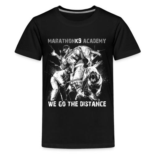 MarathonK9 Academy Graphic Shirt - Kids' Premium T-Shirt