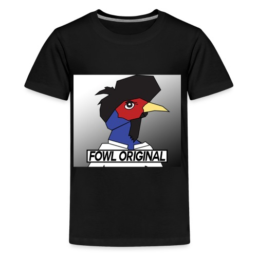 Fowl Original Logo - Kids' Premium T-Shirt