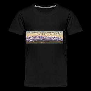 A True Montana Adventure - the Crazy Mountains - Kids' Premium T-Shirt