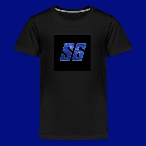 Sideways Gamer Logo - Kids' Premium T-Shirt