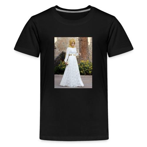 Muslim Hijab Girl - Kids' Premium T-Shirt