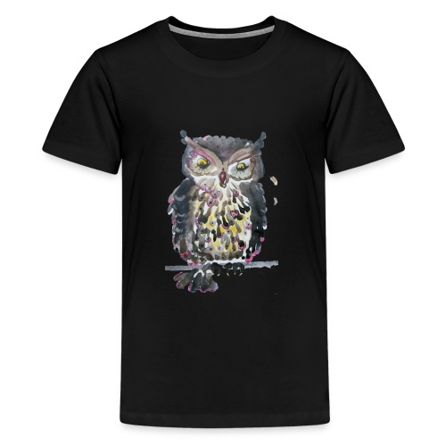 Barnacle Woot Owl - Kids' Premium T-Shirt