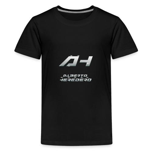 Logo White Style - Kids' Premium T-Shirt