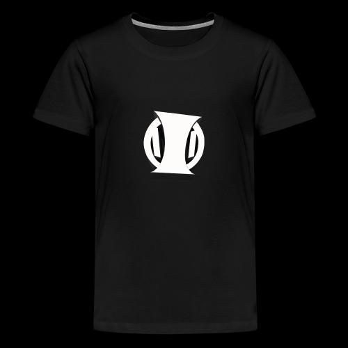 White Identity Logo - Kids' Premium T-Shirt