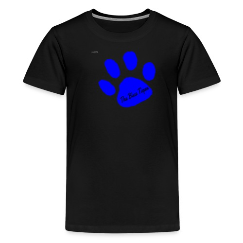 Signed Print from The Blue Tiger - Kids' Premium T-Shirt