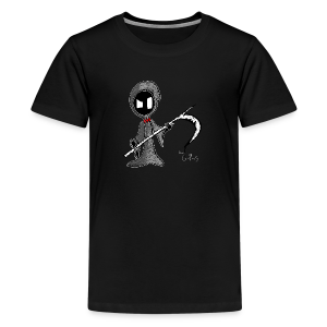 Mr. Grim Edgy - Kids' Premium T-Shirt