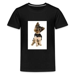 Curious pup - Kids' Premium T-Shirt