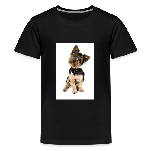 Curious pup - Kids' Premium T-Shirt
