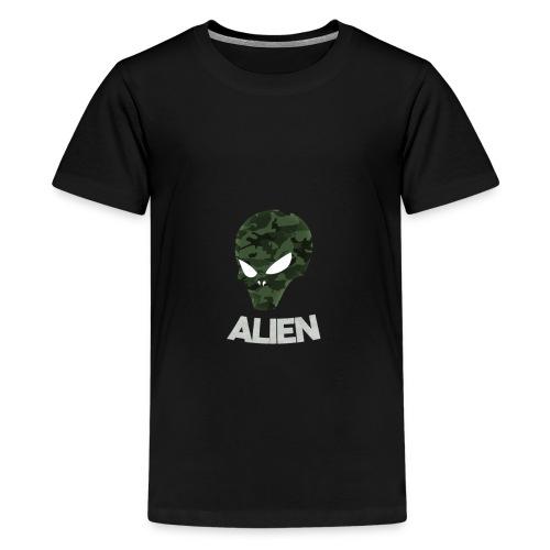 Military Alien - Kids' Premium T-Shirt