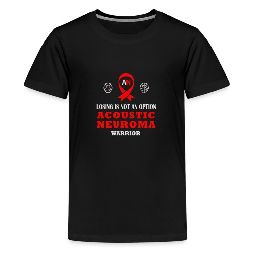 Losing is not an option Acoustic neuroma Warrior - Kids' Premium T-Shirt
