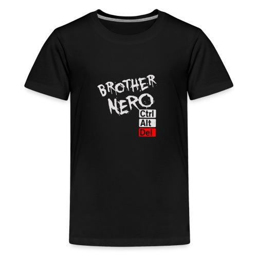 Brother nero Ctrl Alt Del - Kids' Premium T-Shirt