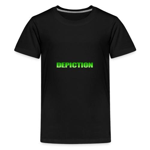 Depiction Impact [GREEN] - Kids' Premium T-Shirt