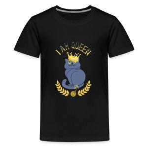 I am Queen - Kids' Premium T-Shirt