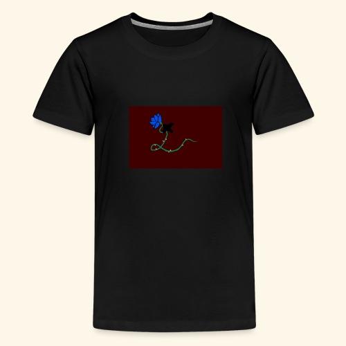 dove with blue rose logo - Kids' Premium T-Shirt