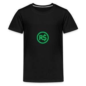 Robux Logo shirts - Kids' Premium T-Shirt