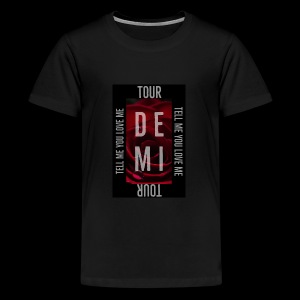 Demi Tell Me You Love Me Tour Shirt - Kids' Premium T-Shirt