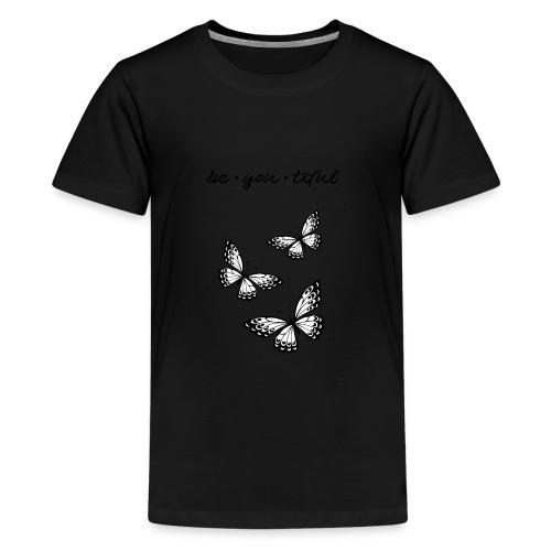 be_you_tiful_black - Kids' Premium T-Shirt