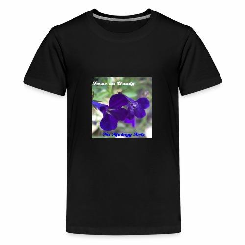 Blue Flower - Kids' Premium T-Shirt