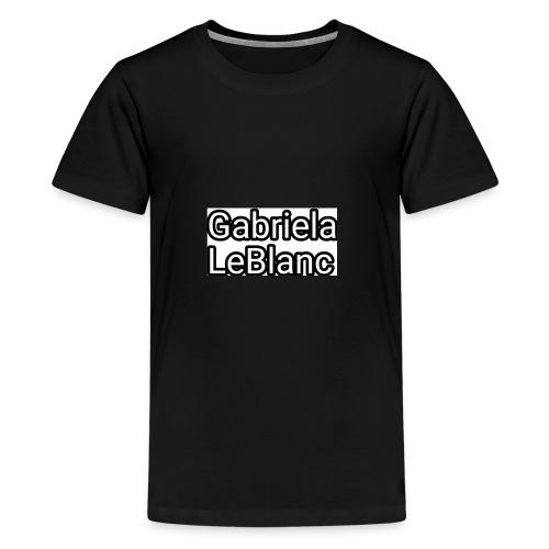 Gabriela LeBlanc Sweatshirt - Kids' Premium T-Shirt