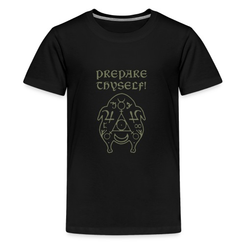 Prepare Thyself! Turciamancy Grey - Kids' Premium T-Shirt
