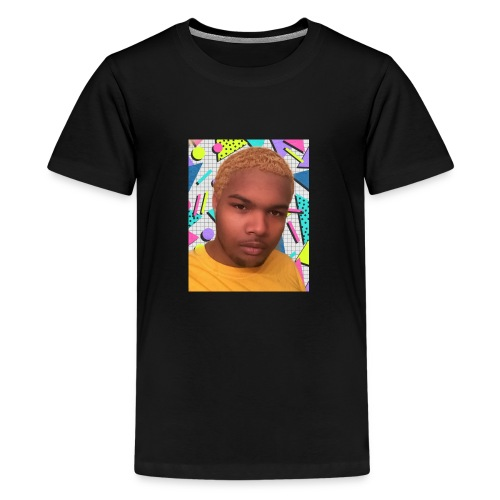 the blonde wave - Kids' Premium T-Shirt