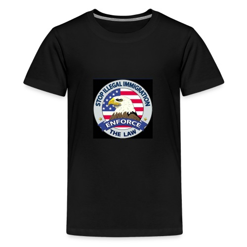 Stop Illegal Immigration - Kids' Premium T-Shirt