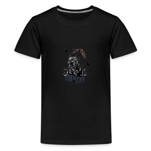 Black dog - Kids' Premium T-Shirt
