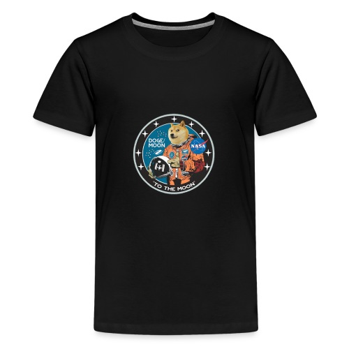 Doge to the Moon - Kids' Premium T-Shirt