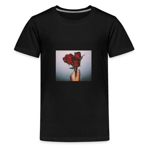 Dead Roses Hoddie - Kids' Premium T-Shirt