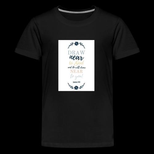 Draw near - Kids' Premium T-Shirt
