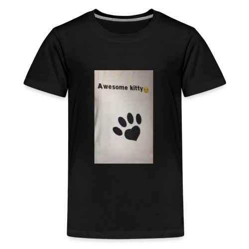 Stay Awesome kitties - Kids' Premium T-Shirt