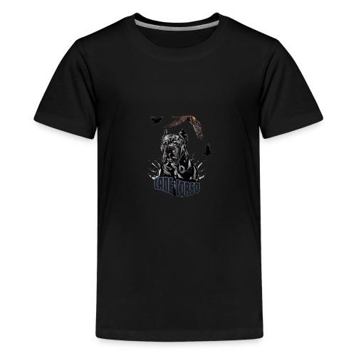 Black dog - Kids' Premium T-Shirt
