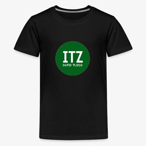ITZ DAVID VLOGS - Kids' Premium T-Shirt