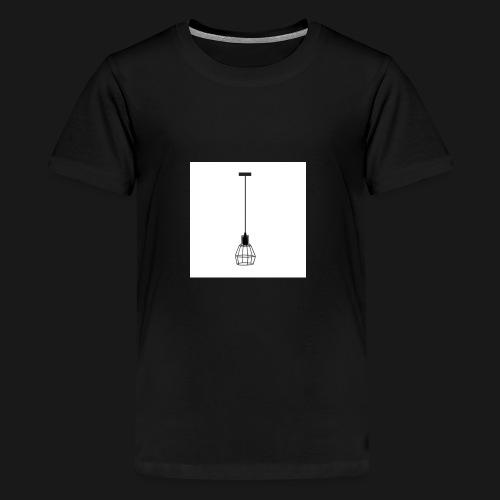 Ellume Design Pendente Meka Preto Base E 27 9183 9 - Kids' Premium T-Shirt