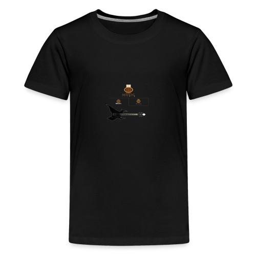 MUSIC ROCK - Kids' Premium T-Shirt
