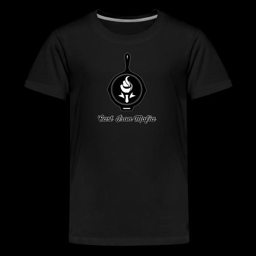 Cast Iron Mafia Logo - Kids' Premium T-Shirt