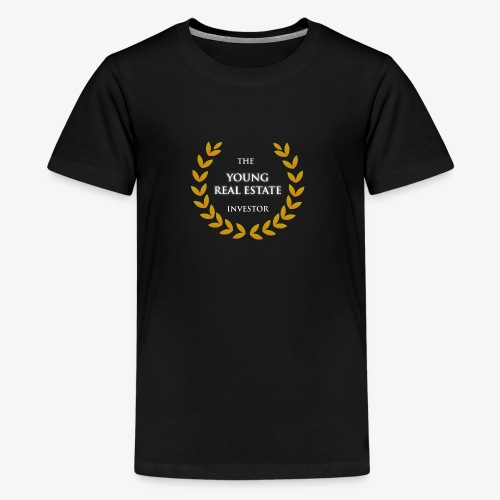 The Young Real Estate Investor - Kids' Premium T-Shirt