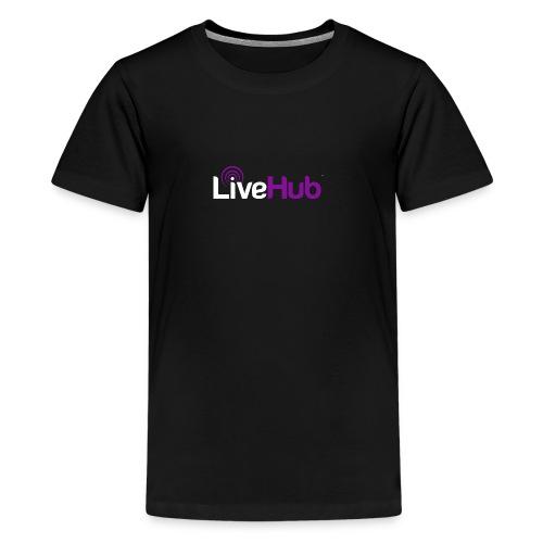 Official LiveHub™ Logo - Kids' Premium T-Shirt