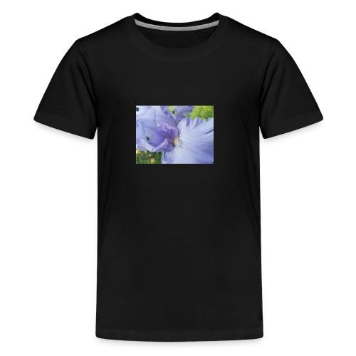 Purple Iris Design - Kids' Premium T-Shirt