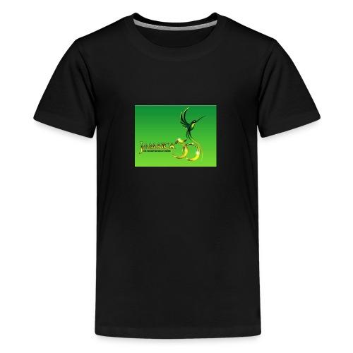 Jamaica 50 bird t shirt - Kids' Premium T-Shirt