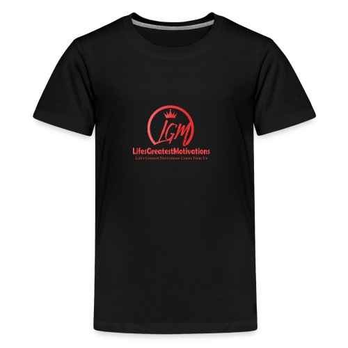 LifesGreatestMotivations Red - Kids' Premium T-Shirt
