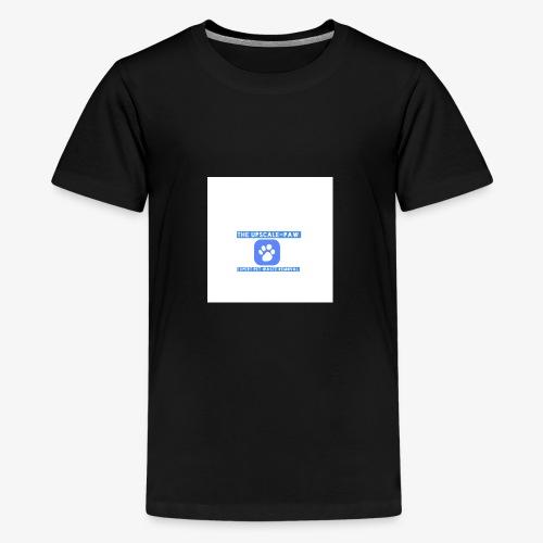 upscale logo airbrush - Kids' Premium T-Shirt