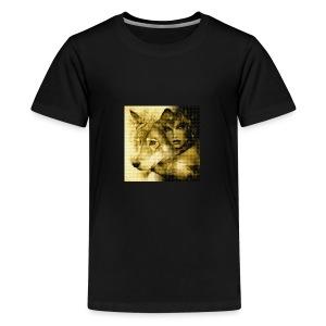 Wolfgirl - Kids' Premium T-Shirt