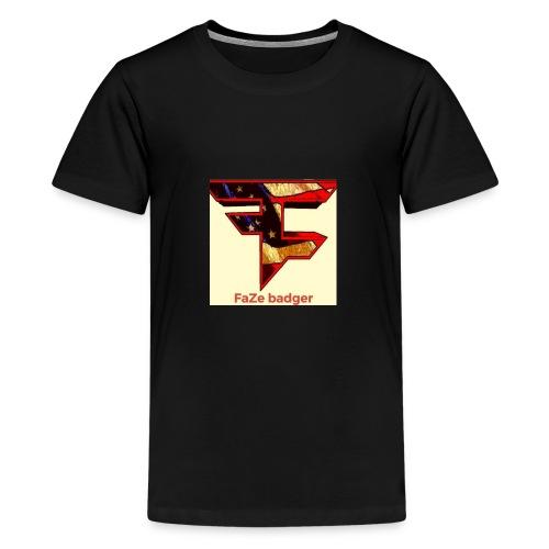 FaZe badger merch - Kids' Premium T-Shirt